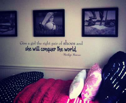 teenage bedroom quotes wall quotes for teen girls quotesgram