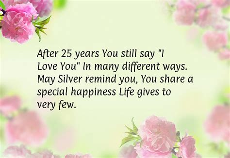 Wedding Anniversary Quotes by 25th Anniversary Quotes