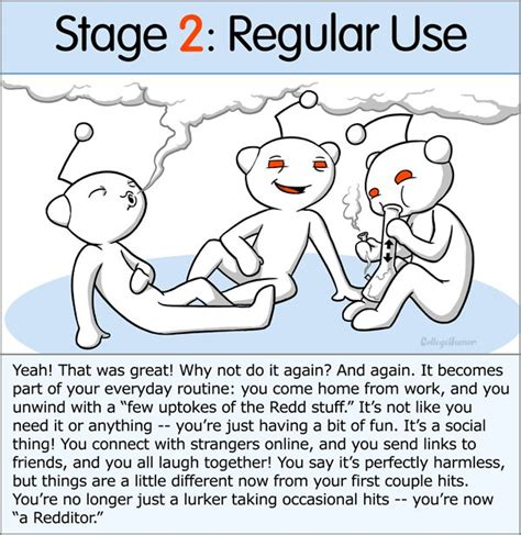 Heroin Detox Reddit by The 7 Stages Of Reddit Addiction Collegehumor Post