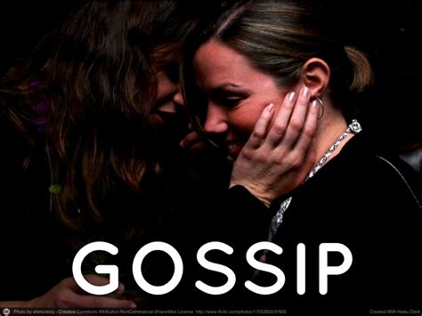 Office Gossip How To Stop Office Gossip Once And For All
