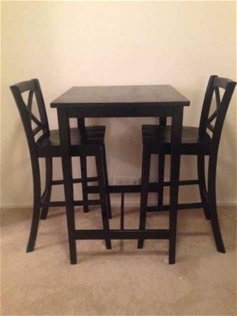 ikea bar table and 2 high top chairs apartment ideas