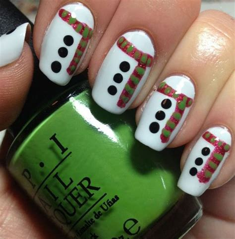 easy nail art for christmas simple christmas nail art designs all about christmas