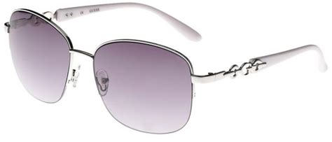 Guess Tutup S823 Silver Kw guess square silver white s sunglasses guesssun guf236 si 35 61 16 135 price review and