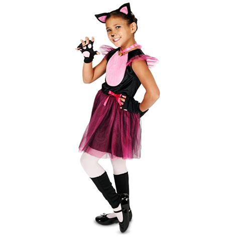 Cat Black Pink buy black pink cat child costume