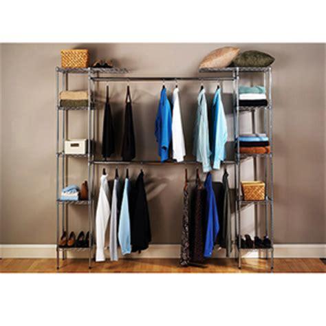 free standing closet system expandable closet organizer