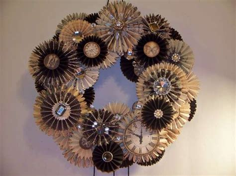 new year wreath 1000 images about wreaths new years on