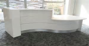 White Curved Reception Desk Interior Curved Reception Desk Ceiling Lighting Bathroom Wall Mirror With Lights 43 Appealing