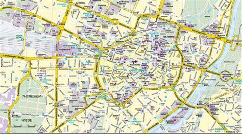 munich map munich map size