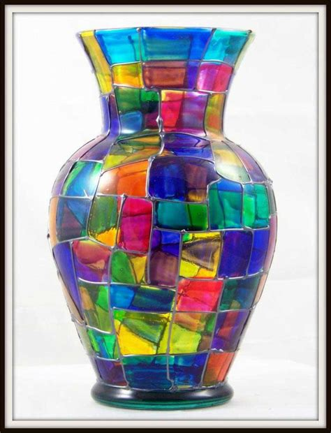 Painted Glass Vases Ideas glass vase decorating ideas glass painting ideas for