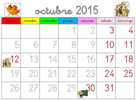 Calendario Por Mes 2016 Cositas Para El Cole Calendario Curso 2015 2016