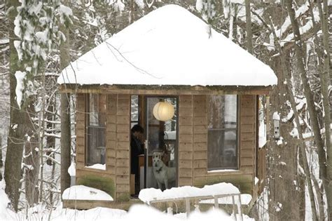 Writers Shed by How Tiny Spaces Help Writers Find Their Muse