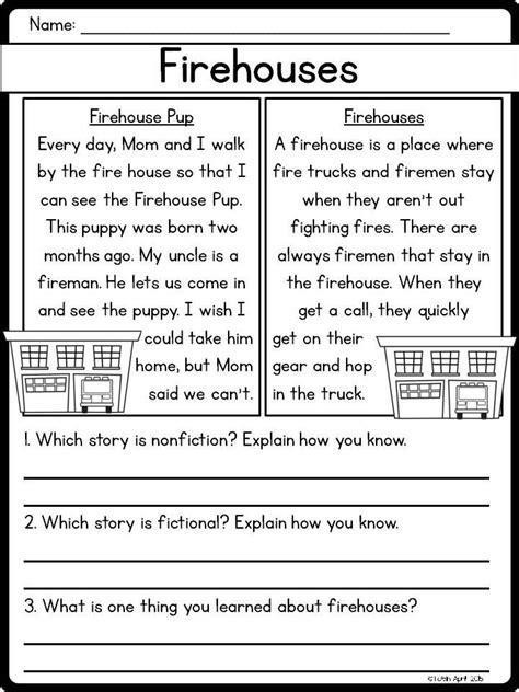 Nonfiction Worksheets by Fiction Vs Nonfiction Worksheet Middle School Venn