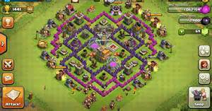 Defense base clash of clans town hall level 7 base layouts coc th7
