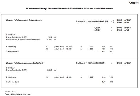 Muster Rechnung Unterricht G 246 Tz Kindig 2012