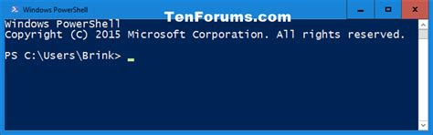 windows 10 powershell tutorial open windows powershell in windows 10 windows 10 tutorials