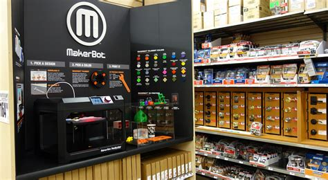 makerbot and the home depot bring makerbot 3d printers to