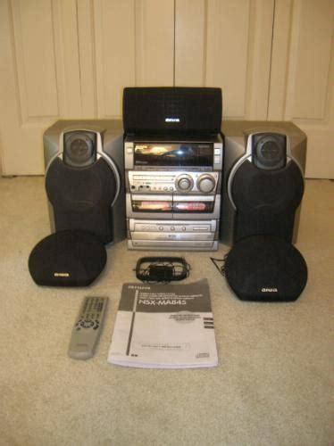amazoncom aiwa nsxma home theater compact stereo