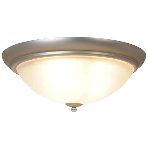 Ceiling Mount Vanity Light Polished Nickel Brushed Nickel
