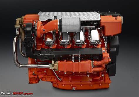 scania launches marine engines in india team bhp