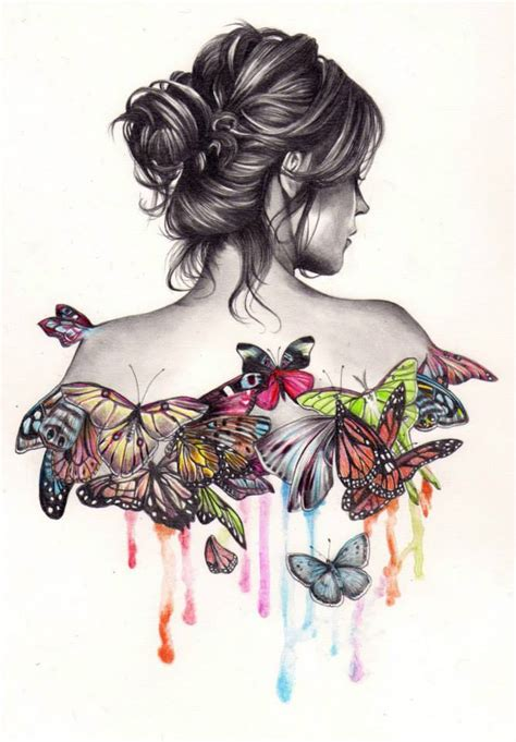 butterfly drawing by kate image