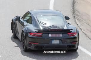 911 Turbo Porsche Next Generation Porsche 911 Turbo Spied Automobile Magazine