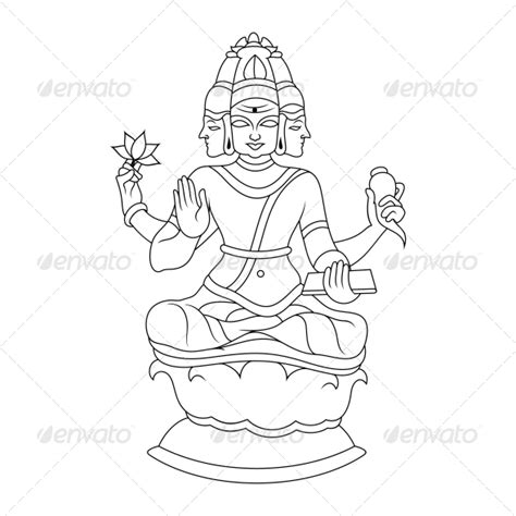 Outline Pictures Of God Krishna by Krishna Drawing Outline 187 Tinkytyler Org Stock Photos Graphics