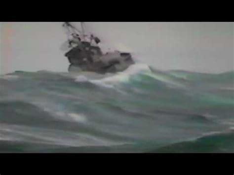 capsized fishing boat alaska capsize in gulf of alaska youtube