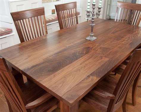 Walnut Kitchen Table And Chairs Custom Made Dining Tables Norfolk Oak