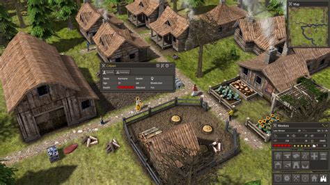 strategy game layout banished is now out a harsher city building strategy game