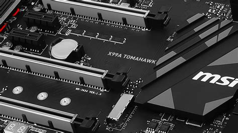 Mainboard Intel Msi X99a Tomahawk overview for x99a tomahawk motherboard the world leader in motherboard design msi global