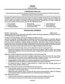 Information Technology Team Leader Sle Resume by Customer Service Team Leader Resume