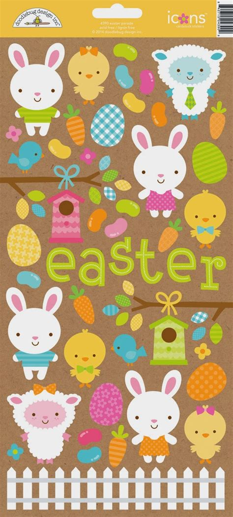 doodlebug easter collection doodlebug design inc introducing easter parade