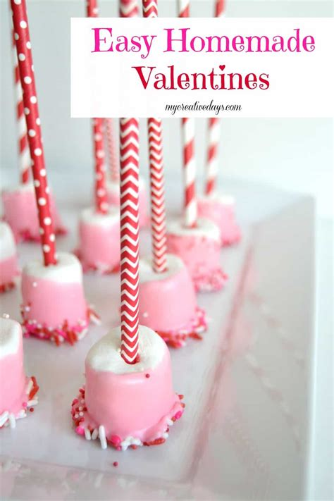 easy valentines for valentines marshmallow treat gifts my creative