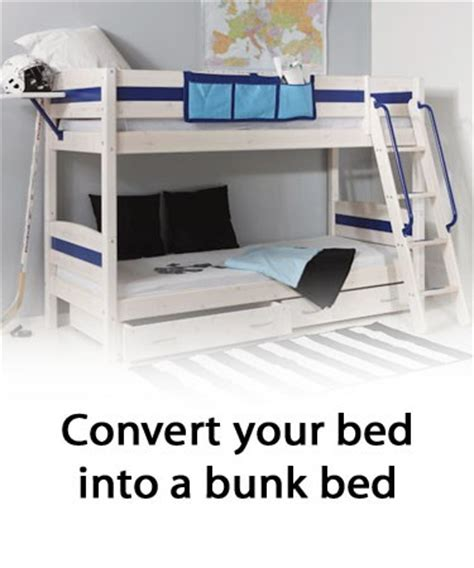 Convert Bunk Bed Into Loft Bed Thuka Trendy Accessories Whitewash Bunk Bed Conversion Kit Mid High Sleeper Review Compare