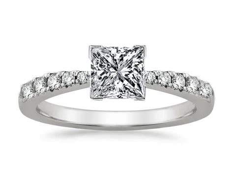 engagement ring freccia princess engagement ring