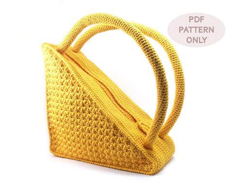 crochet pattern for purse handles crochet bag pattern round handles crochet pattern purse