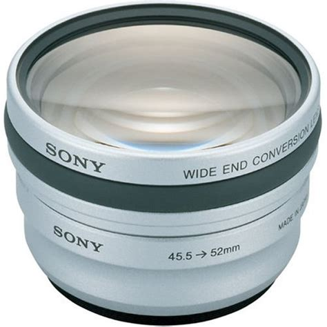 review lenses product sony vcldeh07v wide angle