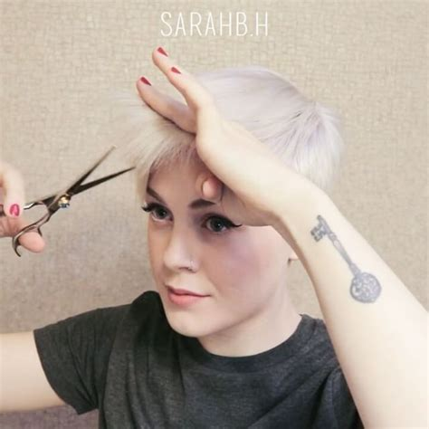 pixie cut with razor comb 110 best sarahb images on pinterest hair cut hairdos