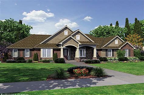 Open Concept Floor Plans For Small Homes craftsman ranch house plans home design hunter s ridge