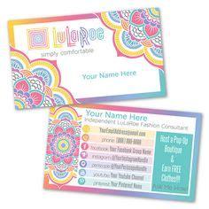 lularoe business card template custom lularoe business cards lularoe marketing kit