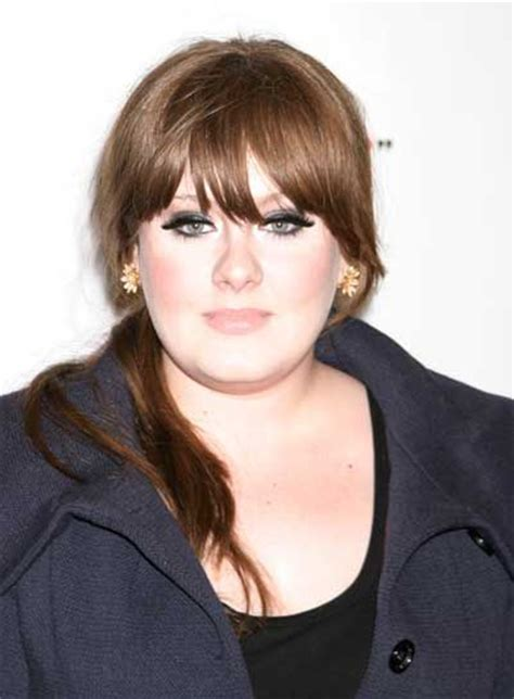 hair straightening for big face adele hairstyles goddesses and bangs