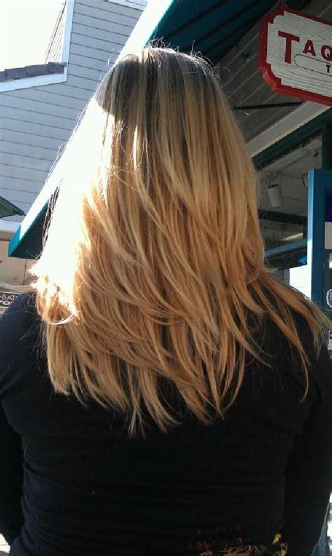 pretty layered hairstyles  medium hair popular