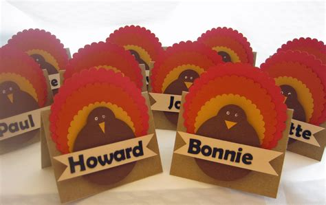 thanksgiving place cards for to make scrapstreet thanksgiving placecards