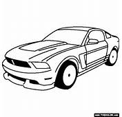 Ford Boss 302 Mustang 1969 Coloring Page