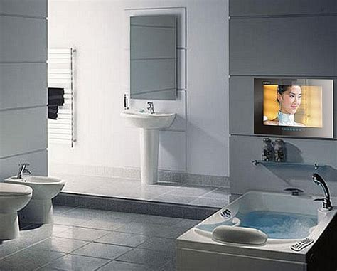 tv in a bathroom bathroom tvs to enjoy your favorite show while bathing