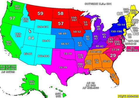 map of usa states zip codes usa zip code map us zip code map america zip code map