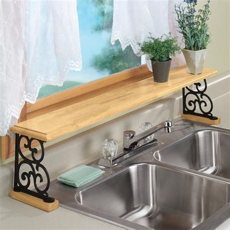 Sink Shelves Kitchen The Sink Shelf The Kitchen Sink Shelf Kimball