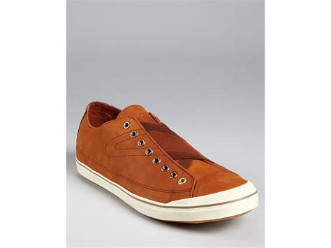 tretorn leather sneakers tretorn skymra leather sneakers in brown for palatino