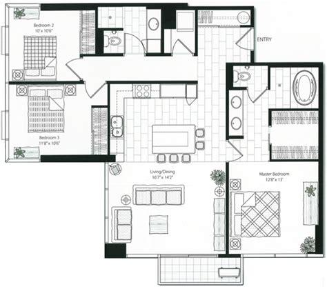 luxury condominium floor plans capitol place at 1200 queen emma hawaii luxury condo