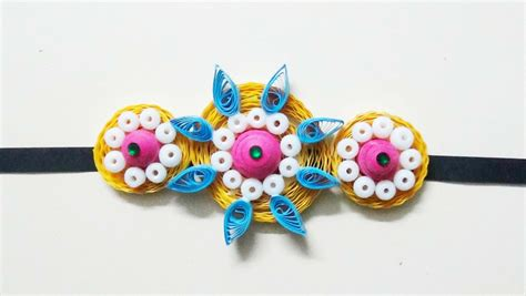 Handmade Craft Ideas Paper Quilling - paper quilling quilling rakhi 2015 my crafts and